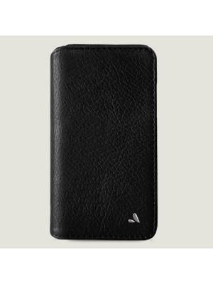 Celokožené puzdro VAJA 1003923013 WALLET iPhone XR bridge black
