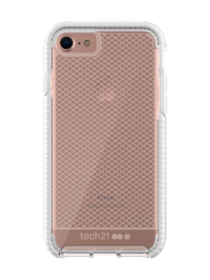 TECH21 Evo Check Case I iPhone 7 I Clear White
