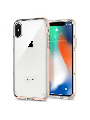 SPIGEN NEO HYBRID CRYSTAL I iPhone X I Blush Gold