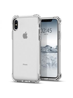SPIGEN RUGGED CRYSTAL I iPhone X I Clear
